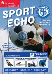 Ausgabe 13/2009 - Tus Medebach 1919 e.V.