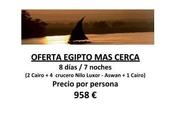 958 € - Viajes El Corte Inglés