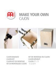 MAKE YOUR OWN CAJON - Australian Treasures