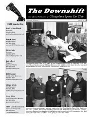 March 2010 - Kart Expo - Chicagoland Sports Car Club