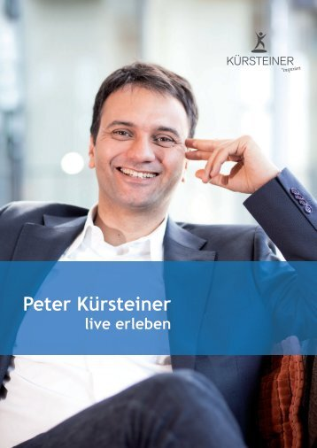 Peter Kürsteiner - live erleben - WeiterbildungsProfis