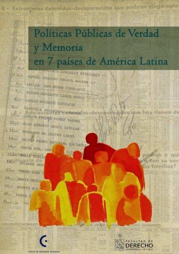Políticas Públicas de Verdad y Memoria en Bolivia, 1982 ... - DHnet