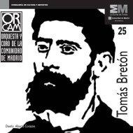 Nº 25: Tomás Bretón - Orquesta y Coro de la Comunidad de Madrid