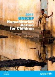 Humanitarian Action for Children 2011 - Unicef