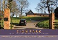 Sion Park Brochure.qxd:Layout 1 - Savills