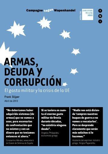 Descargar el informe completo - Armas, deuda y corrupción
