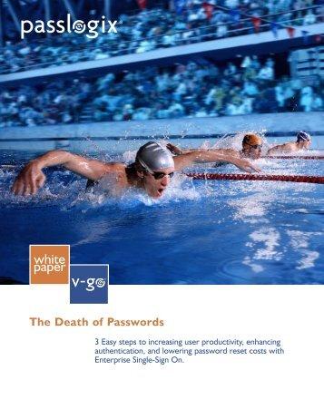 Death of Passwords