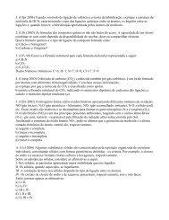 1. (Ufpr 2006) Usando o método da ligação de valência e a teoria ...