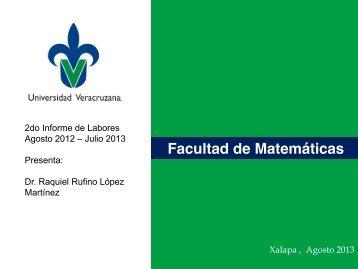 Julio 2013 - UV - Universidad Veracruzana