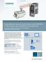 Servo drive 3000 rpm - Industry