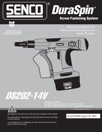 DS202-14V DuraSpin - Senco