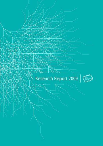 Research Report 2009 - Florey Institute