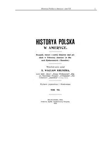 1 Historya Polska w Ameryce - tom VII - Liturgical Center