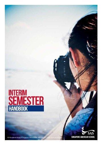 Download a PDF of the 2013 Interim Semester Handbook.