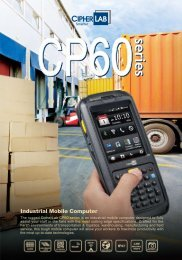 series CP60series - MaRCo