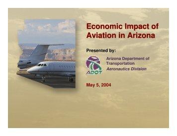 Economic Impact of Aviation in Arizona - Economic Development ...