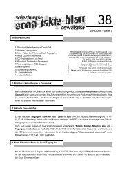 Sonntaktsblatt 38, Ausgabe Juni 2008 - Arbeitskreis Neues ...