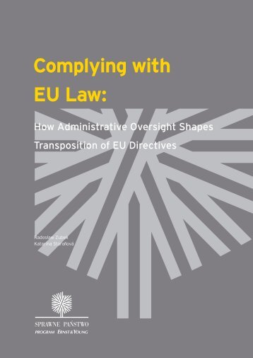 Complying with EU Law: - Ernst & Young