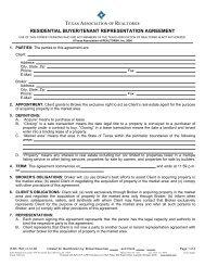 residential buyer/tenant representation agreement - Keller Williams ...