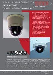 produkt-information ext-ps100/338 - ELBEX (Deutschland) GmbH