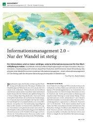 Informationsmanagement 2.0 - Universität zu Köln