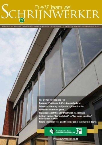 Vlaamse Schrijnwerker_augustus_2009.pdf - Magazines Construction