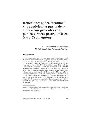 Manfredi, Julian, Linetzky.pmd - Asociación Psicoanalítica de ...