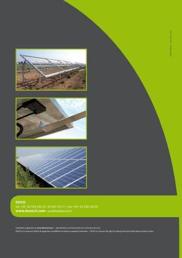 Scarica la brochure tecnica informativa del ... - Infobuildenergia.it
