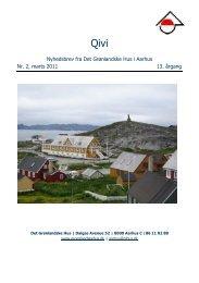 Marts 2011 - De grønlandske huse i Danmark