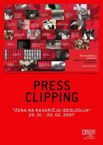 PRESS CLIPPING PDF= cca. 19MB