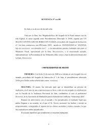SENTENCIA Nº /08 - Consejo General del Poder Judicial