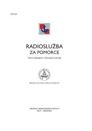RADIOSLUĆBA - Hrvatski hidrografski institut
