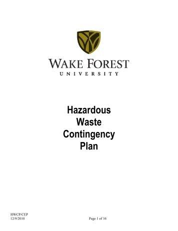 Hazardous waste facility operating license for Household hazardous waste facility design