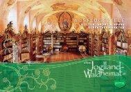 A U S F L U G S Z I E L E - Region Joglland - Waldheimat