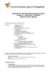 Protokoll der 148. Delegiertenversammlung 2011 Freitag, 21 ...