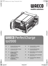 PerfectCharge W2000 - Waeco