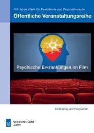 Psychische Krankheiten im Film - Klinik für Psychiatrie und ...