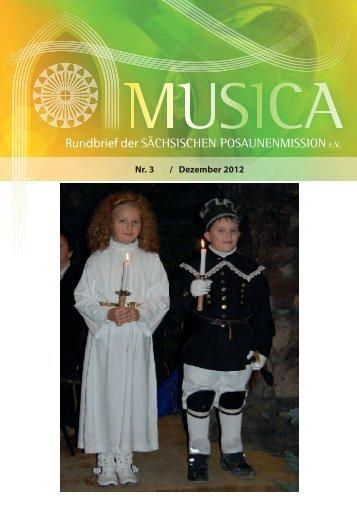Rundbrief Nr. 3 - Dezember 2012 - Sächsische Posaunenmission eV