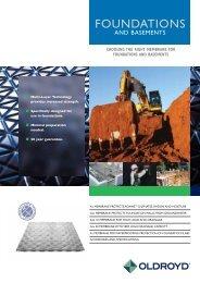 Oldroyd Foundations & Basements - Safeguard Europe Ltd.