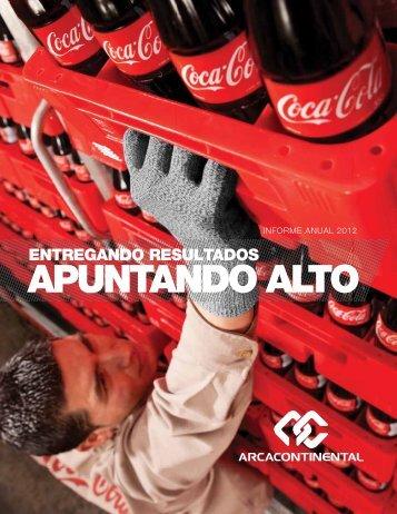 Informe Anual 2012 - Arca Continental