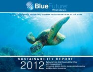 SUSTAINABILITY REPORT - West Marine