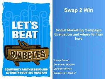 Swap2Win - Weight Management