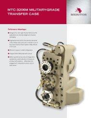 MTC-3206M MiliTary-Grade Transfer Case - Meritor