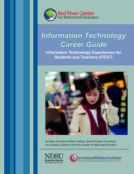 Information Technology Career Guide - International Water Institute