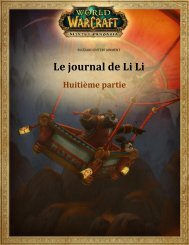 Le journal de Li Li - Blizzard Entertainment