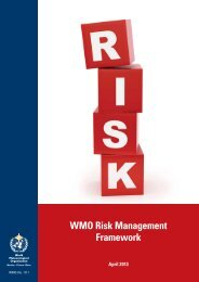 WMO Risk Management Framework - E-Library - WMO