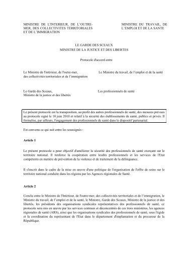 Lire le protocole - CSMF