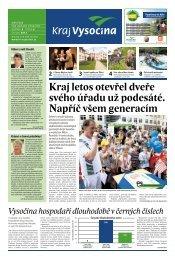 Červen 2012 - Extranet - Kraj Vysočina