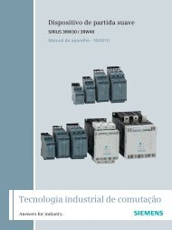SIRIUS 3RW30 e 3RW40 - Industry