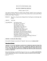 Finance Committee 08-27-12 Minutes.pdf - Streetsboro